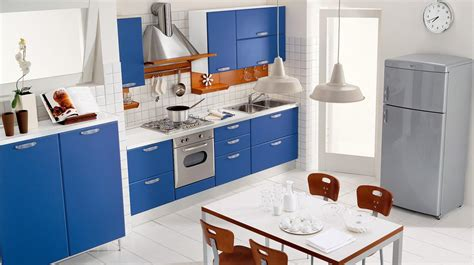 Blue And White Kitchen Ideas Alluring Blue Kitchen Design Ideas Home Design
