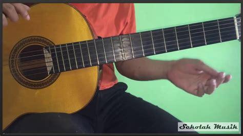 belajar kunci gitar gebi tinggal kenangan belajar lagu tinggal kenangan fingerstyle gitar gaby