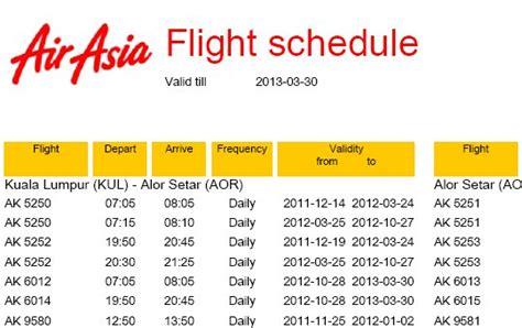 airasia schedule tiket promo air asia ke singapura 2013 ticket promo air asia