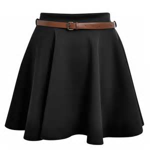 Skater skirt wear style and have a different look