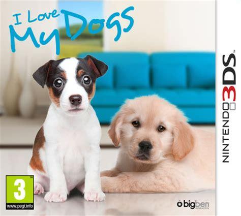 nintendo dogs i my dogs nintendo 3ds nintendo