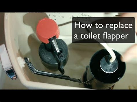full download how to fix a running toilet with a new toilet flapper
