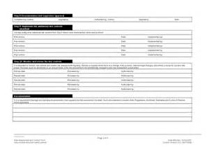 Ohs Risk Assessment Template by Occupational Health Safety Ohs Risk Assessment And