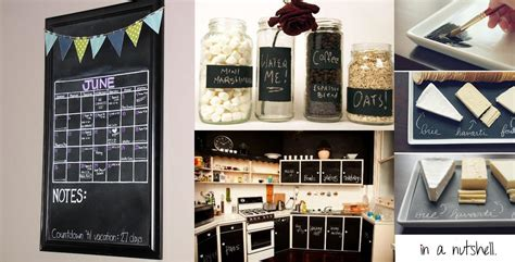 chalkboard paint kitchen ideas midday musings in a nutshell