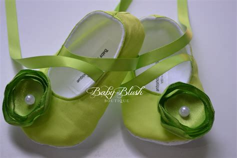 lime green slippers lime green baby shoes soft ballerina slippers baby booties