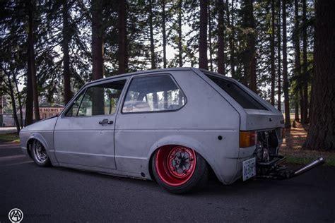 volkswagen rabbit custom vw rabbit golf mk i sitting on custom beetle frame is a