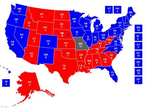 map of us states by political science media centre 187 archive 187 state blue state