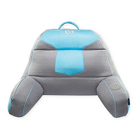 bed gear buy bedgear 174 fusion 2 0 performance backrest in grey blue
