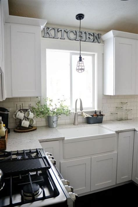 kitchen sink lighting 17 best ideas about over sink lighting on pinterest