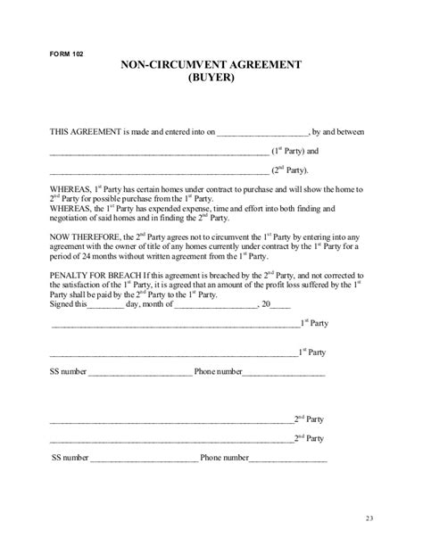 83 investor financing agreement template angel investor