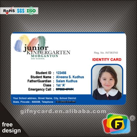 design your own id card for free school id card design online free infocard co