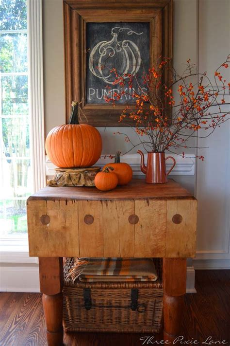 fall home decor pinterest 38 fall decorating ideas in the style of farmhouse