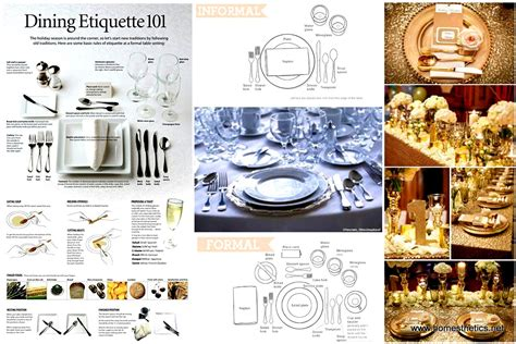 how to properly set the table fashion meets food dining table manners and etiquettes images baby shower
