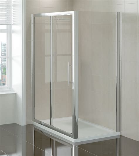 1000mm Shower Door April Prestige 1000mm Sliding Shower Door