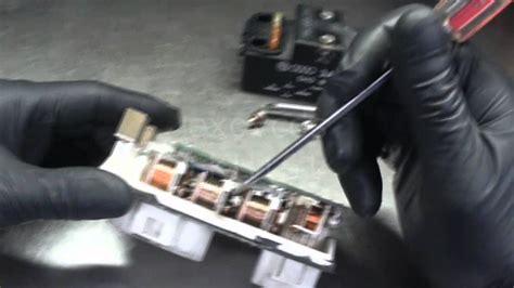 vw  coolant fan control module autopsy  lack