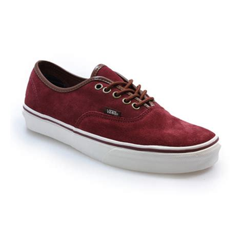 Vans Authentic Classic Maroon vans maroon and black car interior design