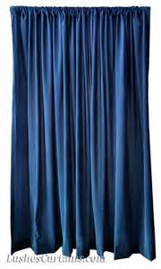 Navy Velvet Curtains Navy Blue Flocked Velvet 120 High Curtains