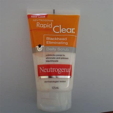 Neutrogena Rapid Clear Blackhead Eliminating Daily Scru Berkualitas neutrogena blackhead eliminating scrub reviews photos makeupalley