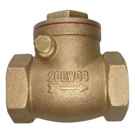 2 swing check valve value brand 1 1 2 quot npt brass swing check valve 6vdt7