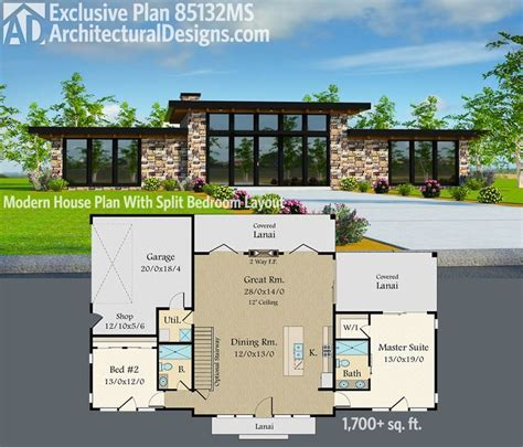 model k floorplan 0 sq ft century village at 168 best modern house plans images on pinterest