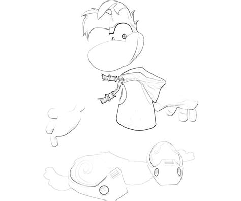 rayman coloring pages free coloring pages of rayman to color