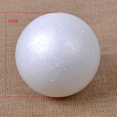styrofoam balls white 100mm polystyrene styrofoam foam modelling craft decoration diy child ebay