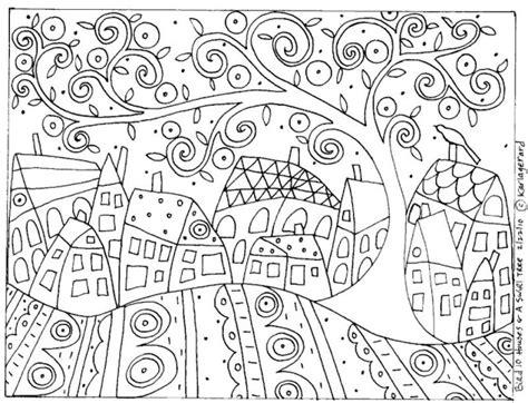 Le Blog De Cathnounourse Mai 2012 Dessin De Coloriage Klimt Gratuit Cp L