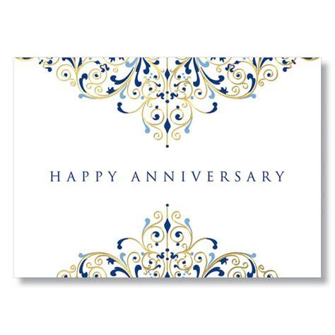 printable work anniversary cards anniversary flourish gold foil work anniversary card