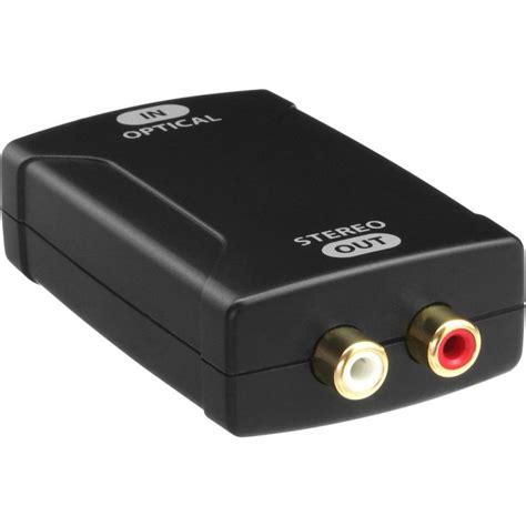 cinch eingang inline 174 toslink audio konverter eingang toslink optisch
