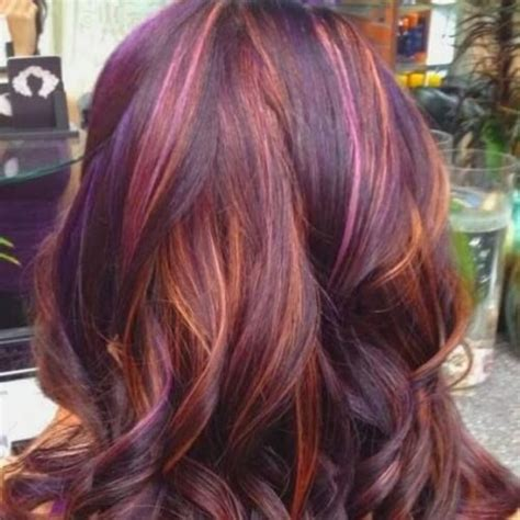 multicolour highlights 50 fab highlights for dark brown hair hair motive hair