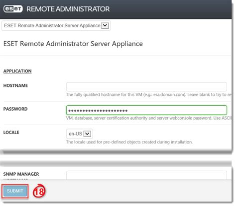 eset virtual appliance remotely manages network endpoint how to migrate eset remote administrator from windows