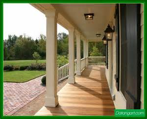 How To Build A Wrap Around Porch Wood Porch Post Wraps Design Idea Home Landscaping