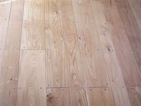 Thick Wood Flooring by Sle Solid 22mm Thick Wide Oak Flooring Real Wood