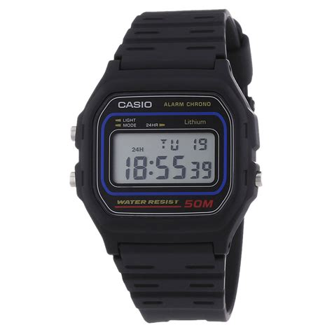 casio original genuine casio collection w 59 1vqes sports 50m water