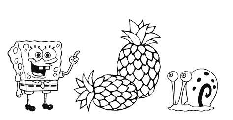 Nanas Besar No 3 3 gambar mewarnai buah buahan w8lu