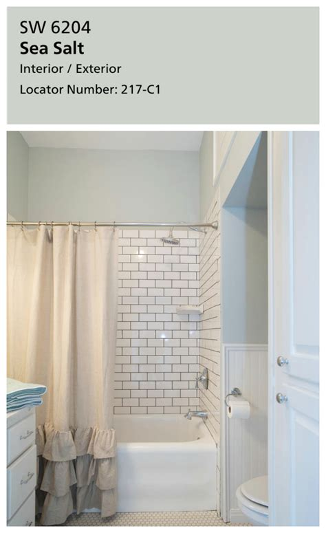 sw sea salt bathroom fixer upper inspired whole house color schemes laundry
