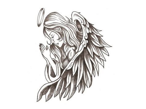 tattoo angel designs free 37 best images about angel tattoo drawings for stencil on
