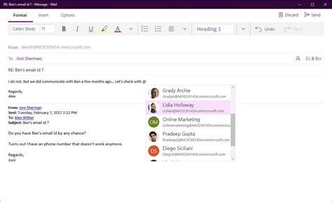 Calendar Update Mail Calendar App Update For Windows 10 Coming With