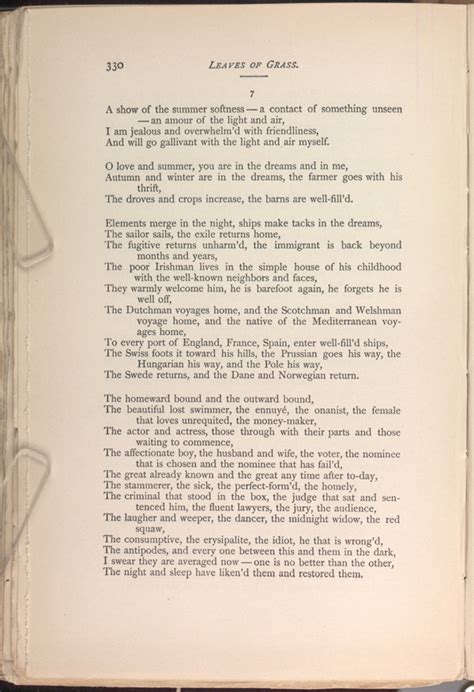 The Sleepers Walt Whitman by The Sleepers Leaves Of Grass 1891 92 The Walt
