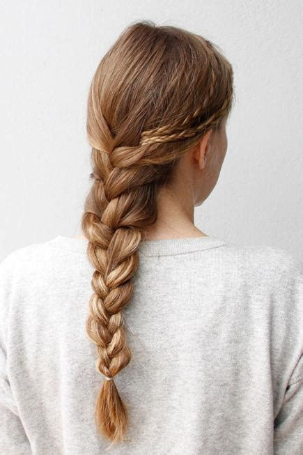 easiest type of diy hair braiding 50 fabulous french braid hairstyles to diy more com