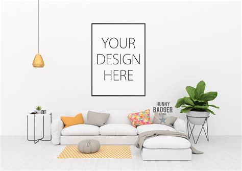 mock up your design here wall design mockup office studio art gallery photography