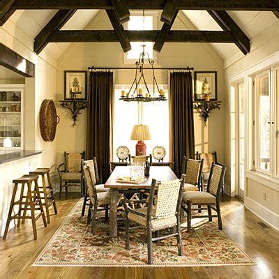 cottage style dining room lodge dining room rooms to love distinctive cottage