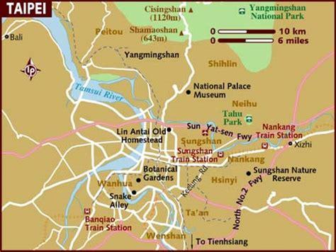 taiwan map asia map of taipei