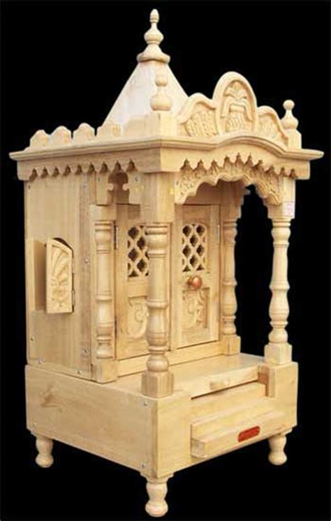 products buy wooden temple from real wood arts vadodara
