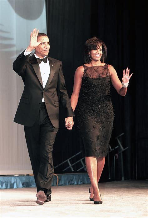 more pics of obama black dress 5 of 5