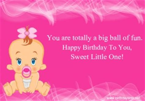 Happy Birthday Baby Boy Wishes Little Girl Birthday Quotes Quotesgram