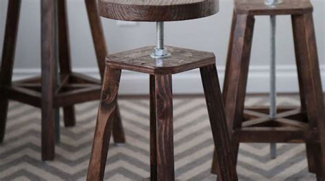 bar stool bottoms bottoms up build these stylish adjustable height bar