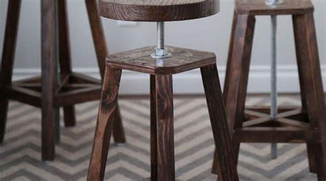 bar stool bottoms bottoms up build these stylish adjustable height bar stools make