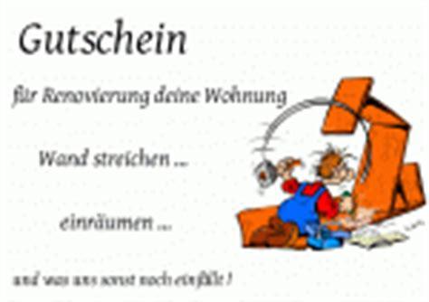 Mobel Mahler Len renovierung als gutschein vorlagen muster gutscheinideen