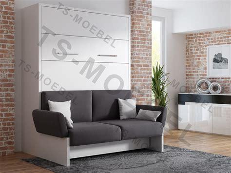 mit wbs ts m 246 bel wandbett mit sofa wbs 1 soft 140 x 200 cm in wei 223 neu